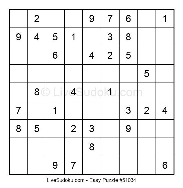 Beginners Puzzle #51034