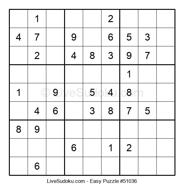 Beginners Puzzle #51036