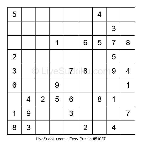 Beginners Puzzle #51037