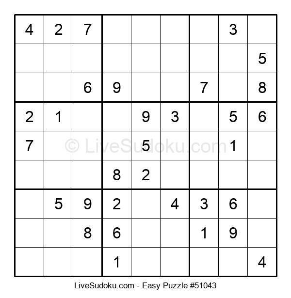 Beginners Puzzle #51043