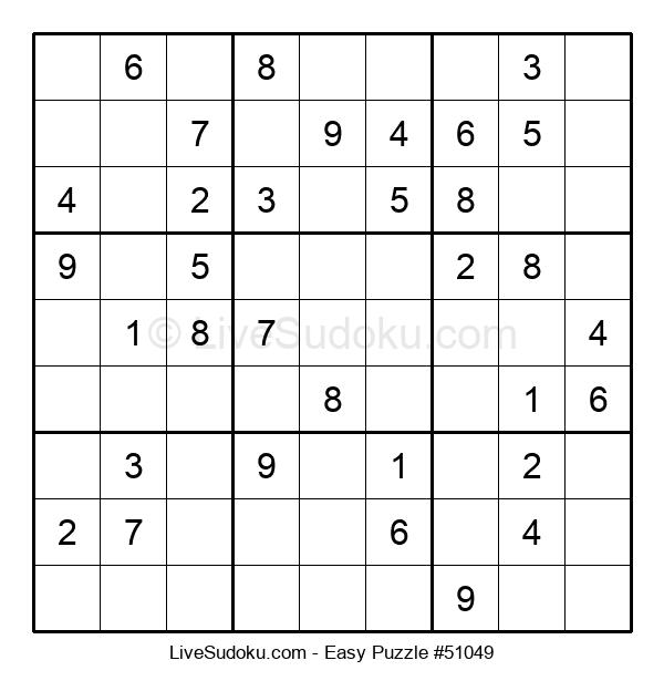 Beginners Puzzle #51049