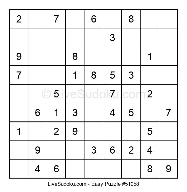Beginners Puzzle #51058