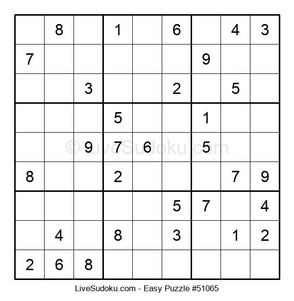 Beginners Puzzle #51065