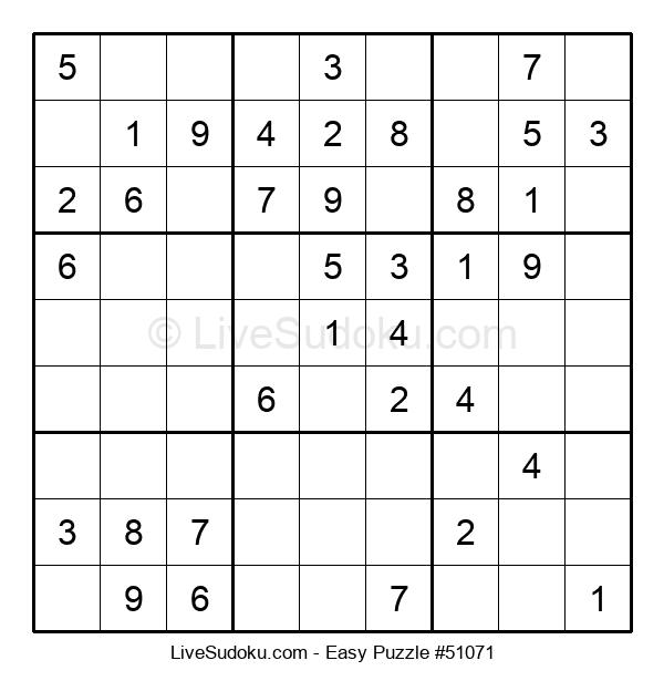 Beginners Puzzle #51071