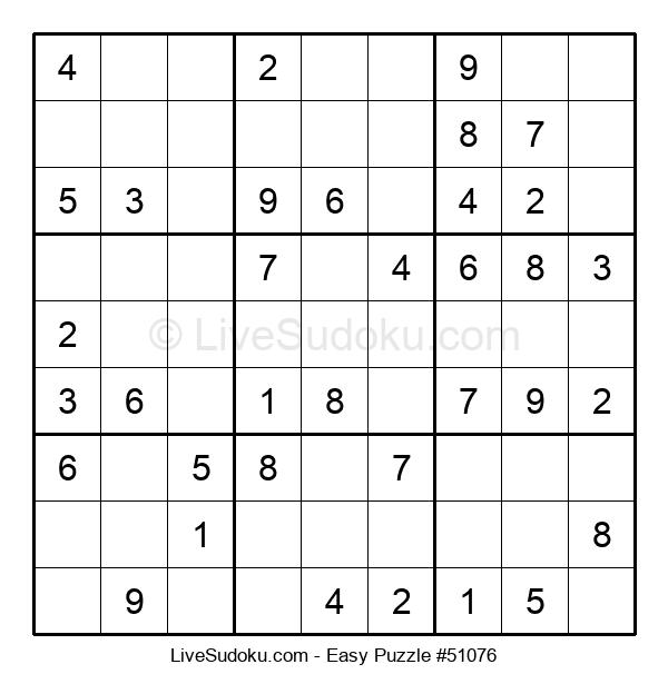 Beginners Puzzle #51076