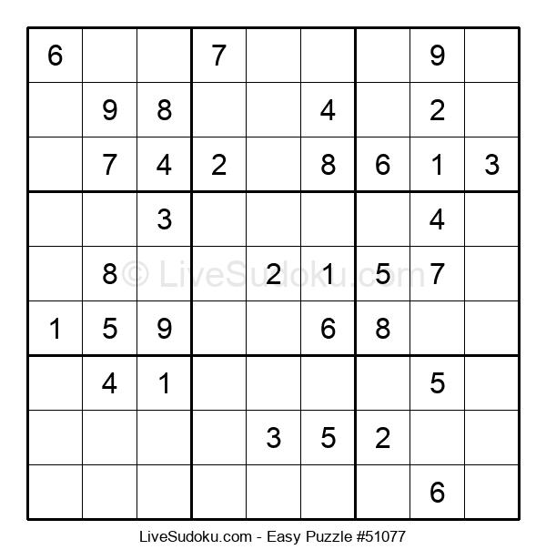 Beginners Puzzle #51077
