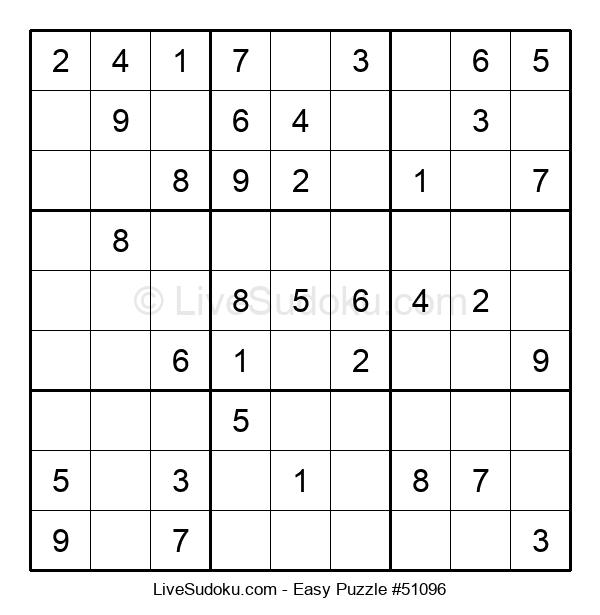Beginners Puzzle #51096