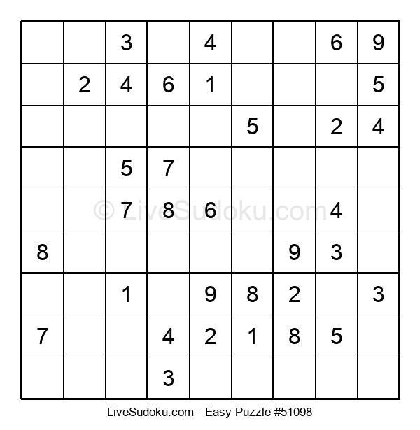 Beginners Puzzle #51098