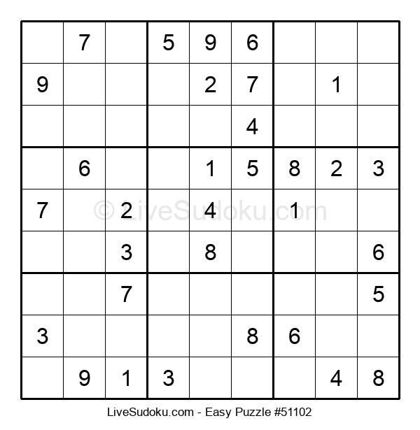 Beginners Puzzle #51102
