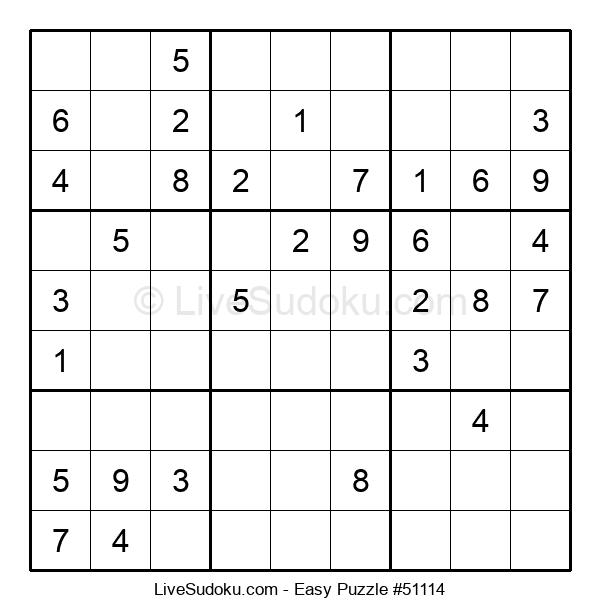 Beginners Puzzle #51114