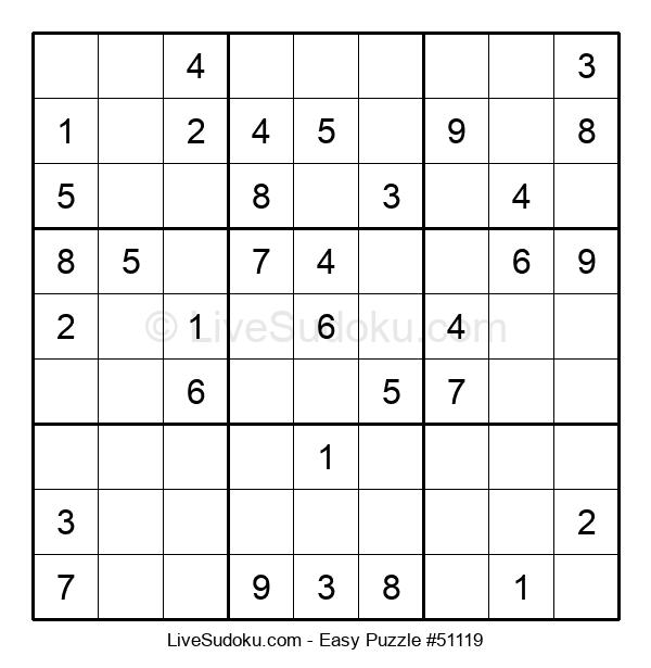 Beginners Puzzle #51119