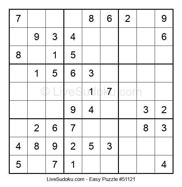 Beginners Puzzle #51121