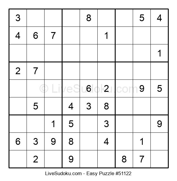 Beginners Puzzle #51122
