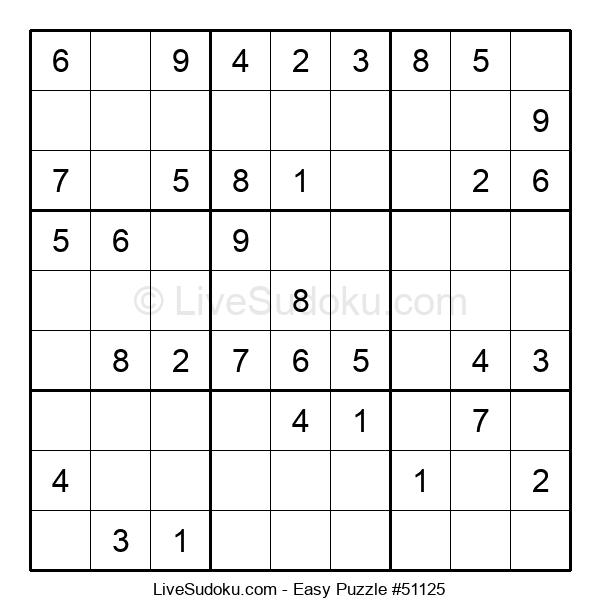 Beginners Puzzle #51125