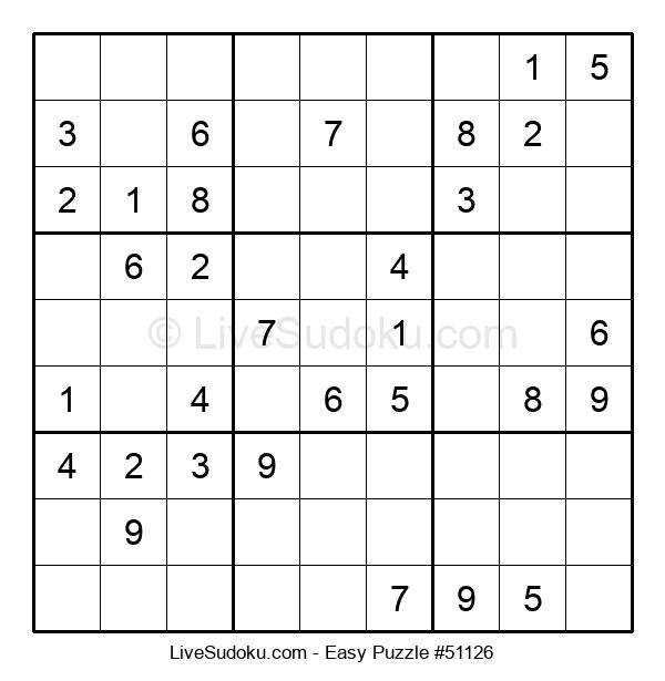 Beginners Puzzle #51126