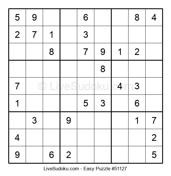 Beginners Puzzle #51127