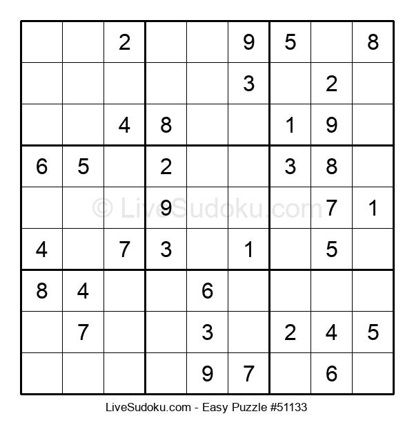 Beginners Puzzle #51133