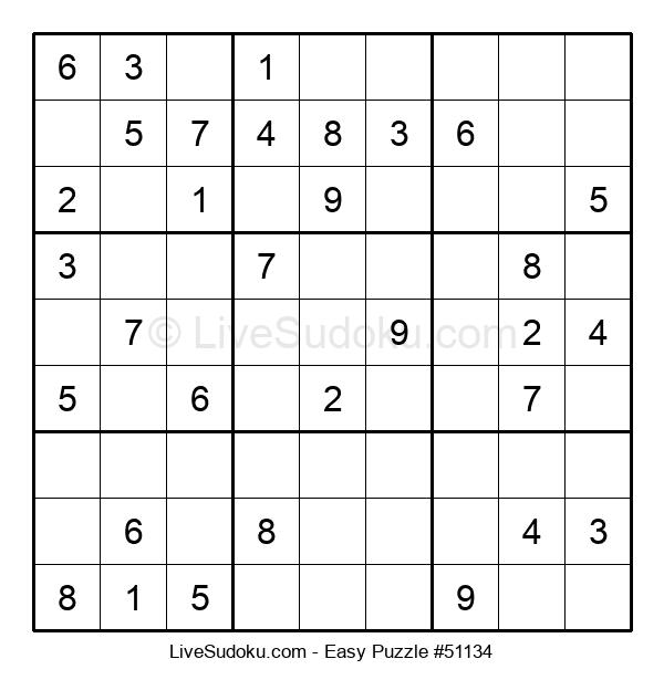 Beginners Puzzle #51134