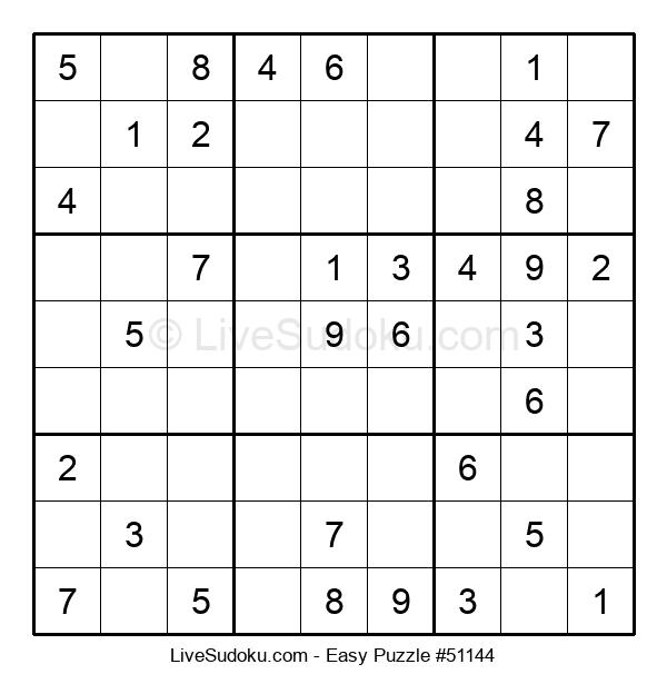 Beginners Puzzle #51144