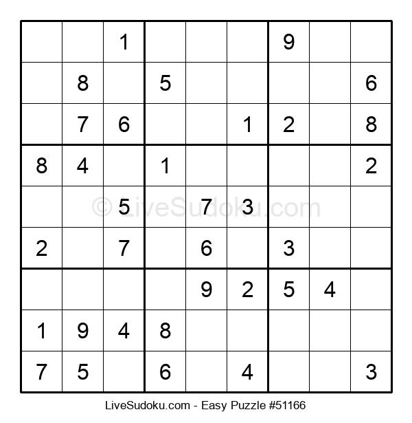 Beginners Puzzle #51166