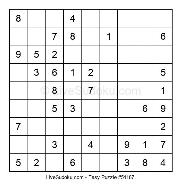 Beginners Puzzle #51187