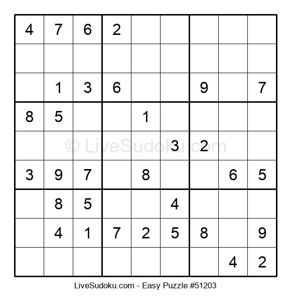 Beginners Puzzle #51203