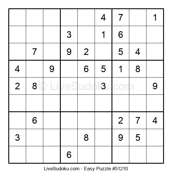 Beginners Puzzle #51210