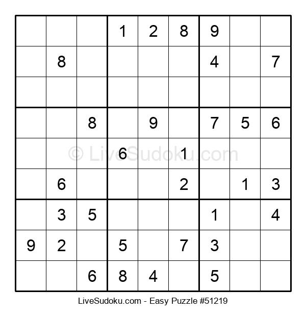 Beginners Puzzle #51219