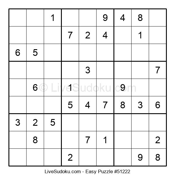 Beginners Puzzle #51222