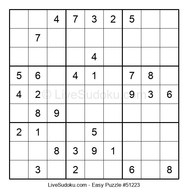 Beginners Puzzle #51223