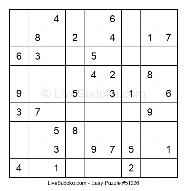 Beginners Puzzle #51226