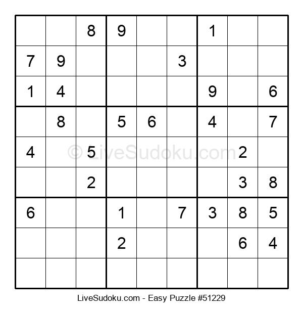Beginners Puzzle #51229