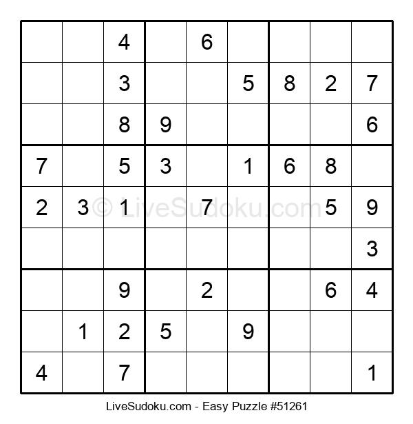 Beginners Puzzle #51261