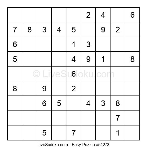Beginners Puzzle #51273