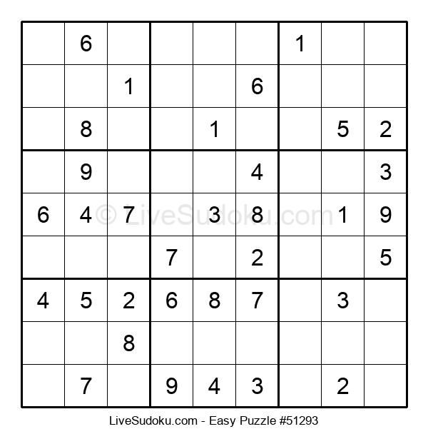 Beginners Puzzle #51293