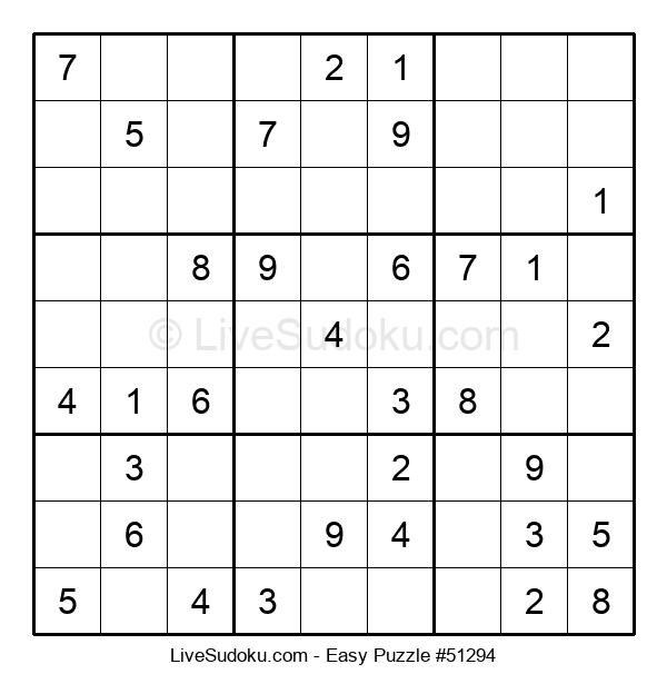 Beginners Puzzle #51294