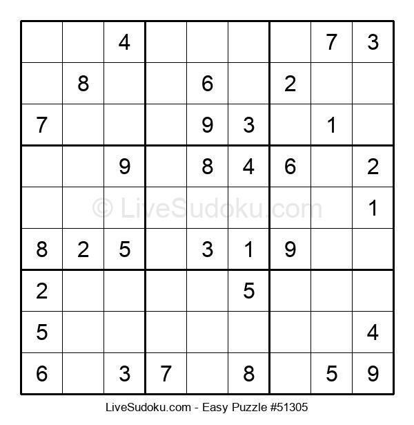 Beginners Puzzle #51305