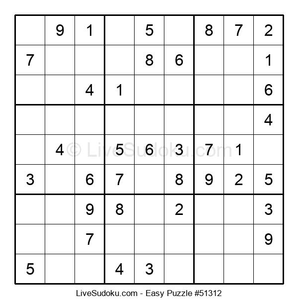 Beginners Puzzle #51312