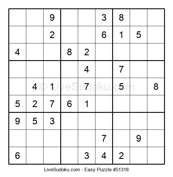 Beginners Puzzle #51318