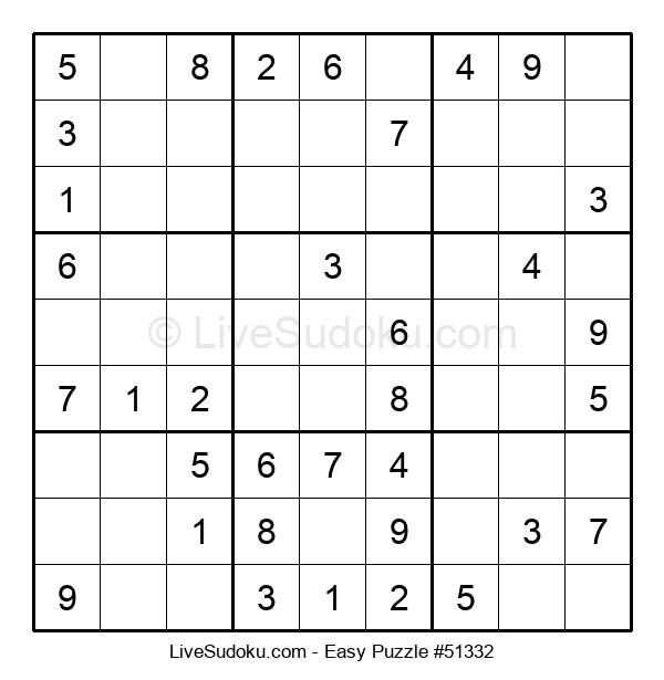 Beginners Puzzle #51332