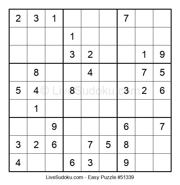 Beginners Puzzle #51339