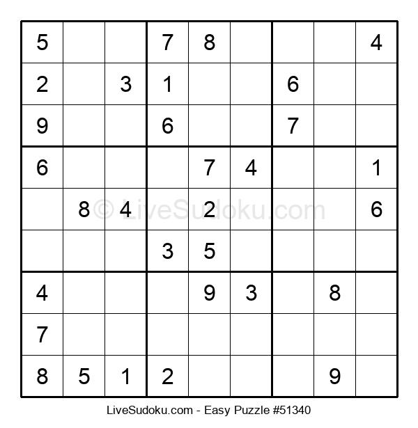 Beginners Puzzle #51340