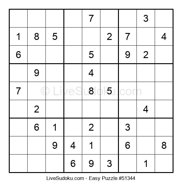Beginners Puzzle #51344