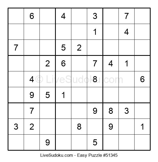 Beginners Puzzle #51345