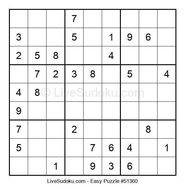 Beginners Puzzle #51360