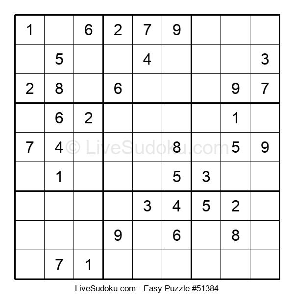 Beginners Puzzle #51384