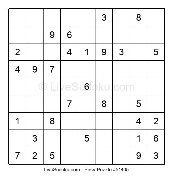 Beginners Puzzle #51405