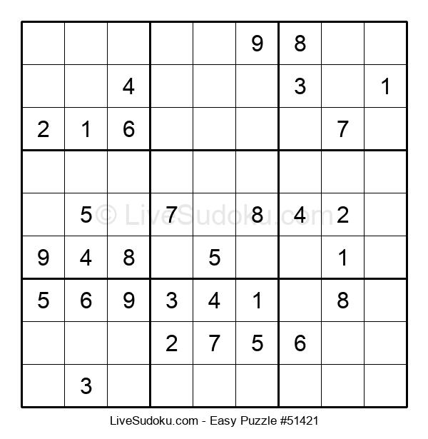 Beginners Puzzle #51421
