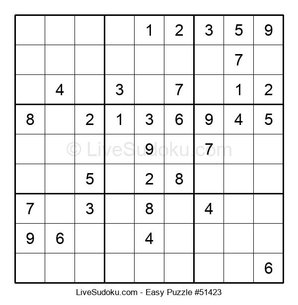 Beginners Puzzle #51423
