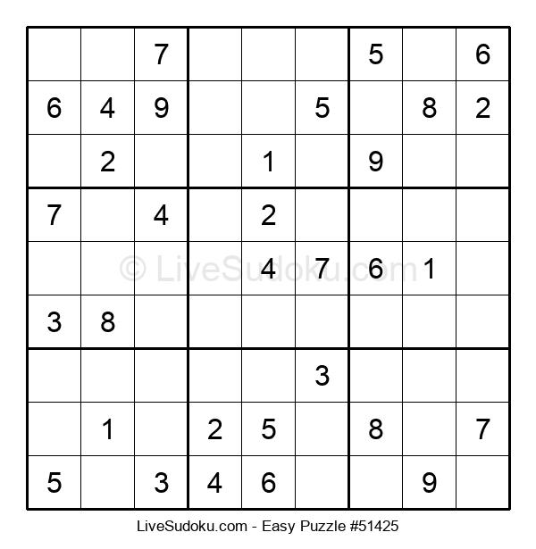 Beginners Puzzle #51425